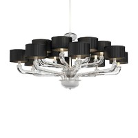 Barovier Toso Chandelier glass art deco 55916