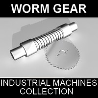 3ds max worm gear