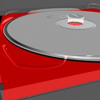 3d model of double cd box