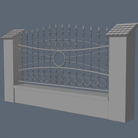 Fence for exterior visualization