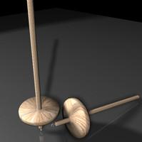 spindle 3d model