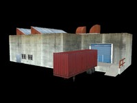free x model small industrial building