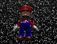 free mario super galaxy 3d model
