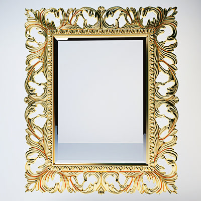 Max Classic Mirror Frame