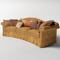 provasi curved sofa
