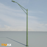 maya truax studio street light