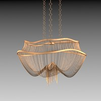 3d model of terzani chandelier