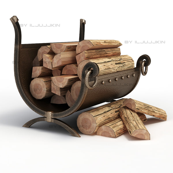 wood firewood 3ds - Firewood... by iljujjkin