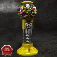 3d gumball machine v2