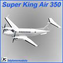 beechcraft super king air 350 3D models
