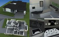 3d model house 2009