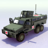RG-33L_6x6_MRAP_3DModel