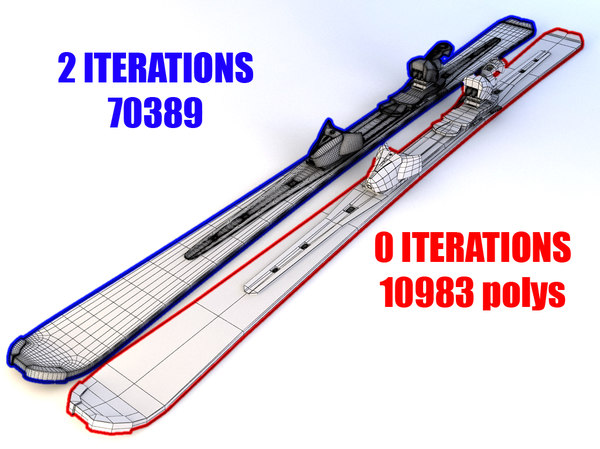 3ds max alpine atomic skis - Atomic Alpine Skis... by Tornado Studio