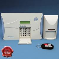 3dsmax wireless alarm