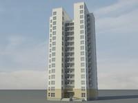 3ds max modern condominium upscale