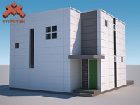 Modern Prefab House - E Cube