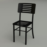 3d ikea chair plastic faux