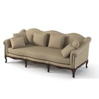 3ds max classic casali sofa