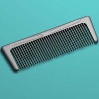 hair comb 3d model