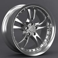 3d model falken torque 5 wheel