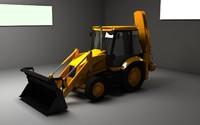 3cx loader digger max