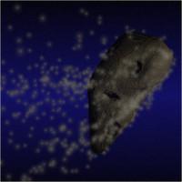 3d model meteor