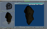 free meteor end 3d model