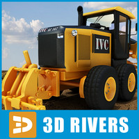 Motor grader by 3DRivers