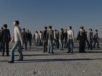 3ds max crowd people man suit