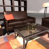 obj living room set