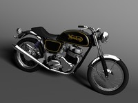 norton 850 commando 3d max