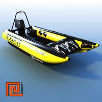 Motor boat Ceasar