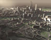 3d metropolis model