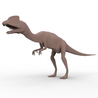maya dilophosaurus theropod dinosaur