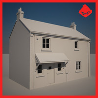 3ds max untextured storey family