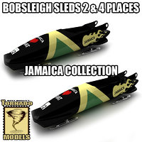 Bobsleigh Sleds Collection - Jamaica