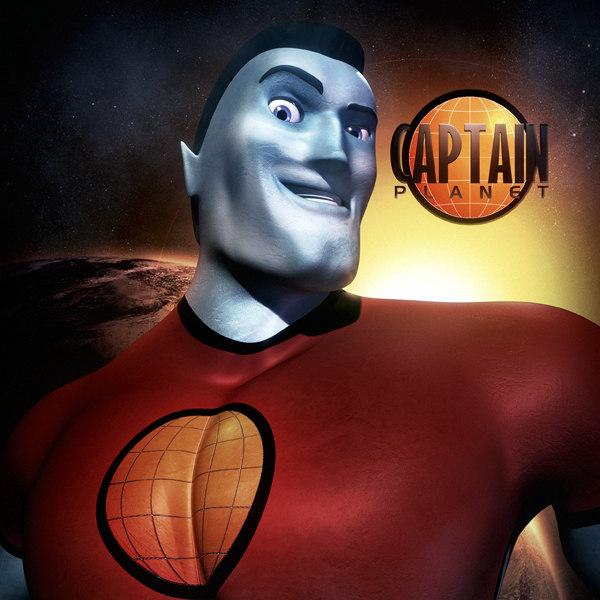 Captain Planet Super Hero