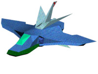 3d spaceship airplane