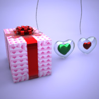 lightwave valentine decors