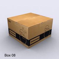 Cardboard box 08