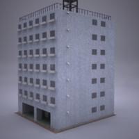 building details 3d lwo
