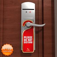 Hotel door handle