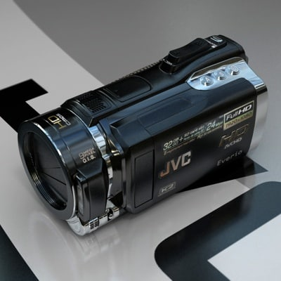 JVC GZ-HM400 Full HD Camcorder