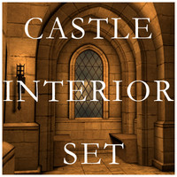 blender castle interior set