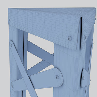 3d eiffel stool design - Eiffel Stool... by vizka