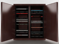 40 disc cd cabinet 3d max