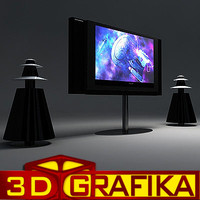 3d lcd tv speakers