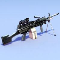 M249-Mk48_LMG_GameModel