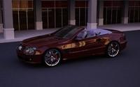 mercedes benz sl500 cabrio 3d c4d