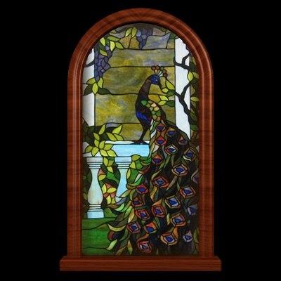 WD Peacock Window